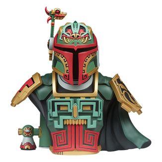 Busto Boba Fett Urban Aztec by Jesse Hernandez Star Wars