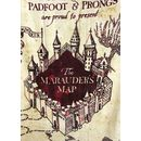 Toalla Mapa del Merodeador Harry Potter