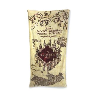 Marauder's Map Towel Harry Potter