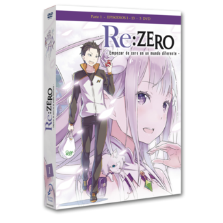 Re:Zero Empezar de Cero en un Mundo Diferente Parte 1 Episodios 1 a 13 DVD