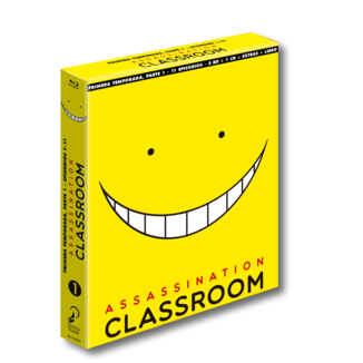 Assassination Classroom Temporada 1 Parte 1 Edición Coleccionista Bluray