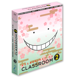 Assassination Classroom Temporada 2 Parte 2 Edición Coleccionista Bluray