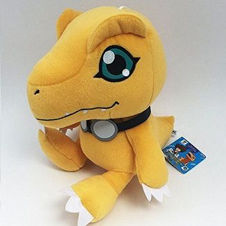 Plush Doll Agumon V1 Digimon