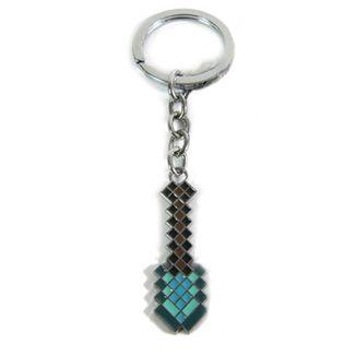 Llavero Minecraft - Pala Diamante