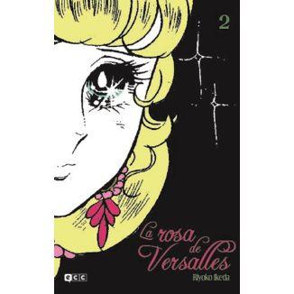 La Rosa de Versalles #02 Manga Oficial ECC Ediciones (spanish)
