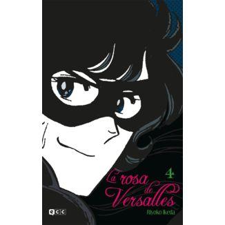 La Rosa de Versalles #04 Manga Oficial ECC Ediciones