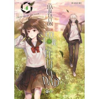 Una Habitacion del Color de la Felicidad #04 Manga Oficial ECC Ediciones