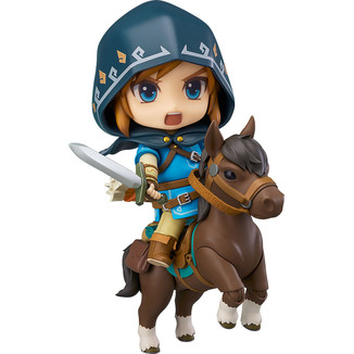 Nendoroid The Legend of Zelda Breath of the Wild Link Deluxe Edition
