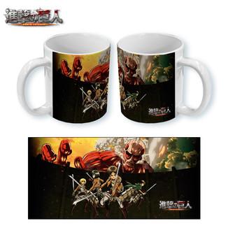 Mug Attack on Titan - Wall Action