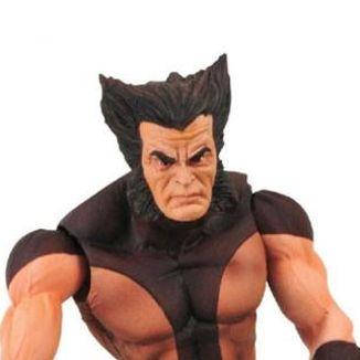 Figura Lobezno Unmasked Brown Costume Marvel Select