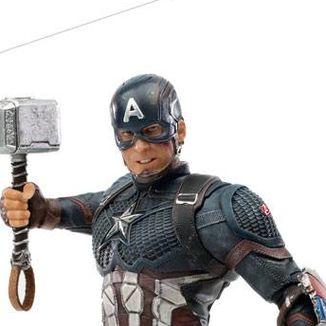 Estatua Capitan America Ultimate Marvel Comics BDS Art Scale