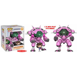 Figura Overwatch - Dva with Meka - Funko POP!