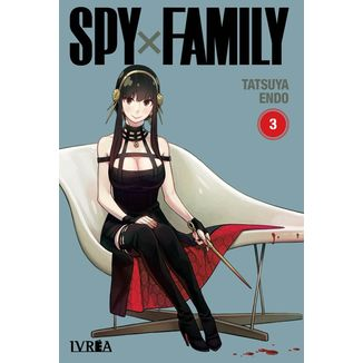 Spy X Family #03 Manga Oficial Ivrea