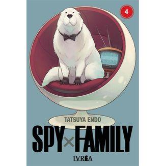 Spy X Family #04 Manga Oficial Ivrea
