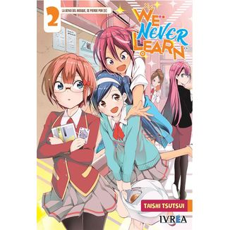 We Never Learn #02 Manga Oficial Ivrea (spanish)