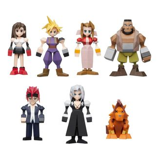 Final Fantasy VII Polygon Figure Set