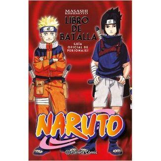 Naruto Libro de Batalla Manga Oficial Planeta Comic (Spanish)