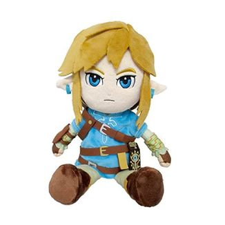 Plush Toy Link The Legend Of Zelda Breath Of The Wild 30 cm