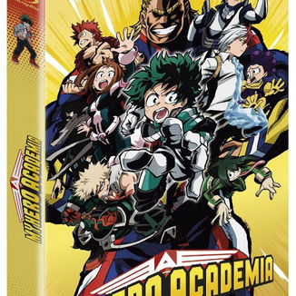Bluray My Hero Academia First Season Complete Collector's Edition