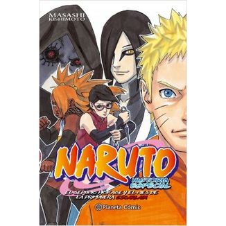 Naruto Gaiden Manga Oficial Planeta Comic (Spanish)