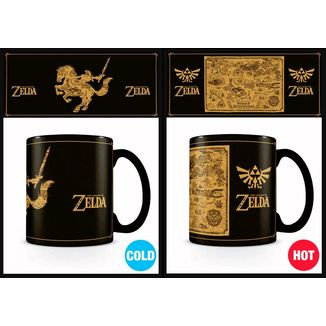 Taza Térmica Mapa The Legend Of Zelda