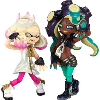Pearl & Marina Figma 507 On the Hook Splatoon 2
