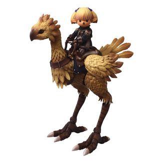 Figura Shantotto & Chocobo Final Fantasy XI Bring Arts