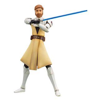 Figura Obi-Wan Kenobi Star Wars The Clone Wars ARTFX+