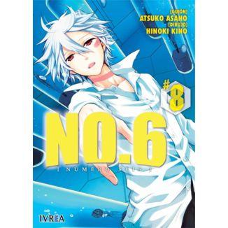 No.6 (Número seis) #08 Manga Oficial Ivrea