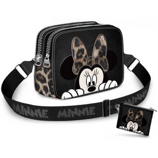 Bolso + Monedero Minnie Mouse Classy Disney