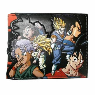 Saiyans Dragon Ball Z Bifold Wallet