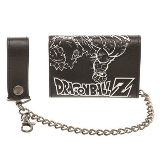 Son Goku Wallet With Chain Dragon Ball Z