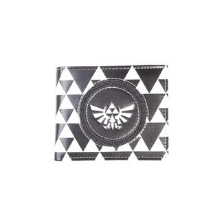Hyrule Logo Black & White Wallet The Legend Of Zelda