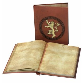 Ligth up Notebook Lannister House Game of Thrones