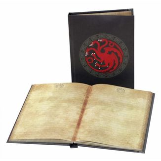 Ligth up Notebook Targaryen House Game of Thrones
