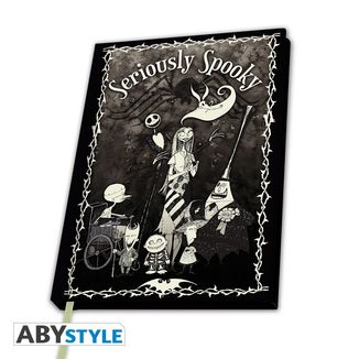 Jack & Sally Premium Notebook Nightmare Before Christmas A5
