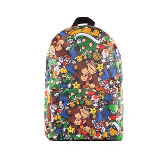 Super Mario Characters Backpack Nintendo