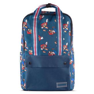 Mochila Super Mario Nintendo Azul