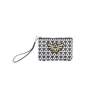 Hyrule Logo Black & White Coin Purse Bag The Legend Of Zelda