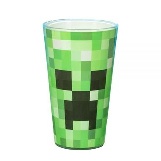 Creeper Large Glass Minecraft 450ml