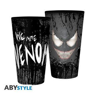 Vaso Grande Venom Marvel Comics 400ml