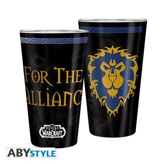 World of Warcraft Alliance Large Glass WoW 400ml