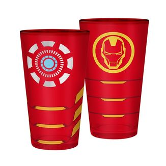 Vaso Grande Iron Man Marvel 400ml