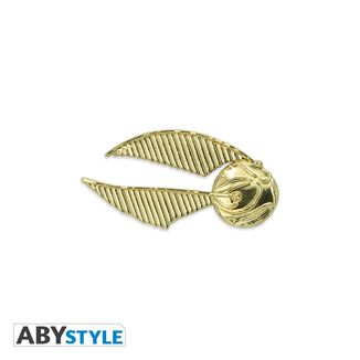 Golden Harry Potter Pin Snitch