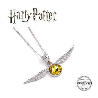 Golden Snitch Harry Potter x Swarovski Necklace