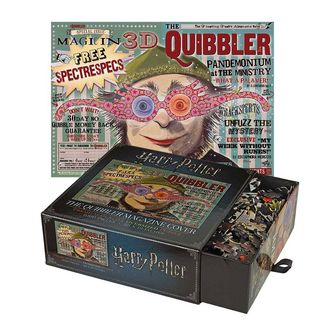 The Quibbler Magazine Cover Harry Potter Puzzle