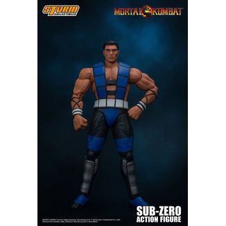Figura Sub Zero Unmasked Mortal Kombat