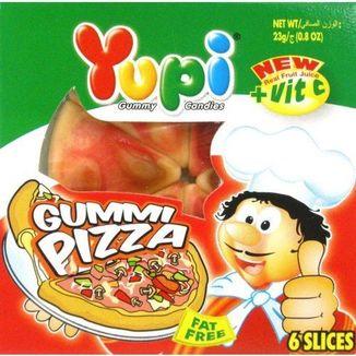 Yupi Pizza shaped jelly bean