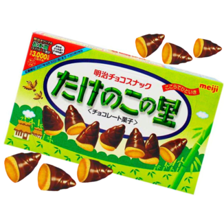 Bellotas de Chocolate Takenoko