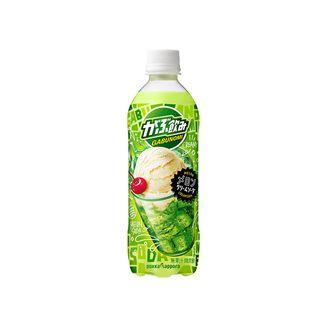 Gabunomi Pokka Sapporo Melon Cream Soda Bottle 500 ml